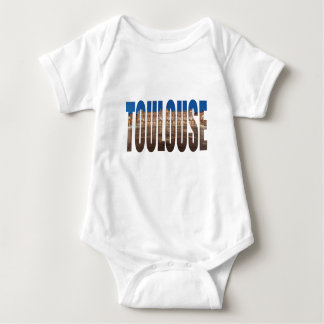 Toulouse France Baby Bodysuit