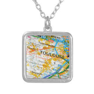 Toulouse, France Silver Plated Necklace