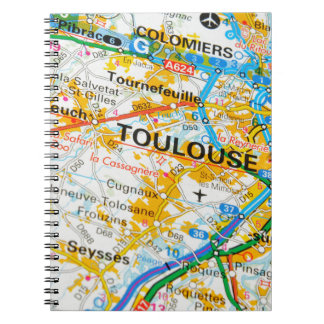 Toulouse, France Spiral Notebook