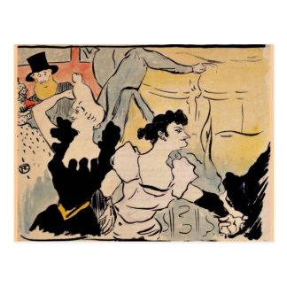 Toulouse-Lautrec, Au Bal Postcard