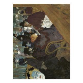 Toulouse-Lautrec, Henri de esky: Na promen?d Mouli Postcard