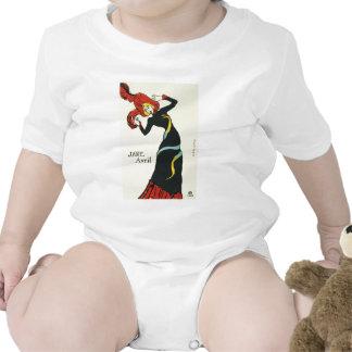 Toulouse-Lautrec Jane Avril Baby Bodysuit