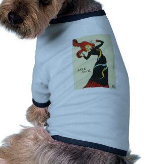 Toulouse-Lautrec Jane Avril Doggie T Shirt