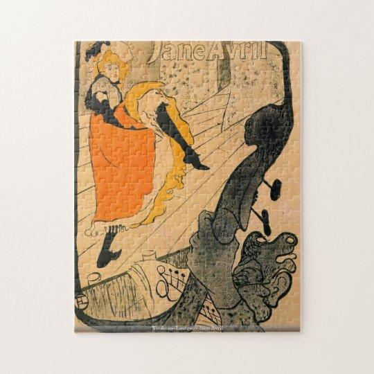 Toulouse-Lautrec - Jane Avril puzzle