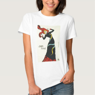 Toulouse-Lautrec Jane Avril T-shirts