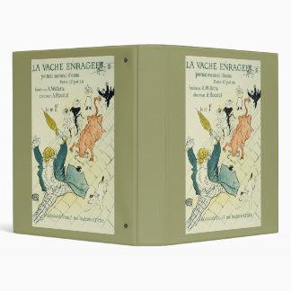Toulouse-Lautrec La Vache Enragee Binder
