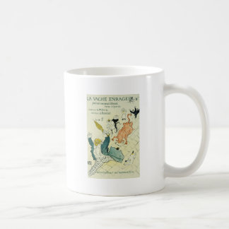 Toulouse-Lautrec La Vache Enragee Classic White Coffee Mug
