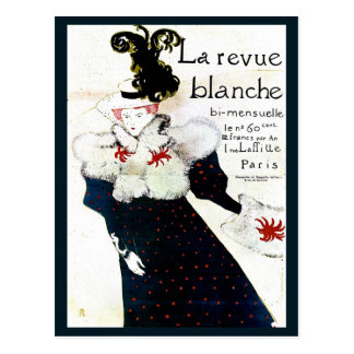 Toulouse Lautrec magazine advertising Postcard