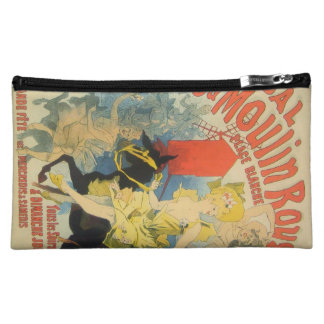 Toulouse Lautrec Poster Art Cosmetic Bag