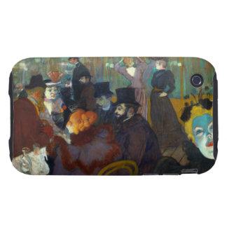 Toulouse-Lautrec Rouge iPhone 3 Tough Case