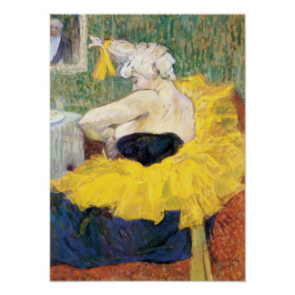 Toulouse-Lautrec - The Clowness Cha U Kao Poster