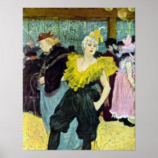 Toulouse-Lautrec - The clowness Poster
