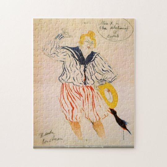 Toulouse-Lautrec - The seamen song puzzle