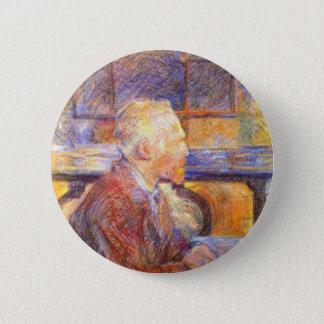 Toulouse-Lautrec - Van Gogh 2 Inch Round Button