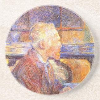 Toulouse-Lautrec - Van Gogh Beverage Coasters