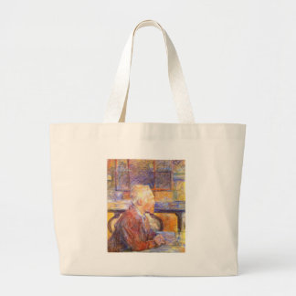 Toulouse-Lautrec - Van Gogh Large Tote Bag