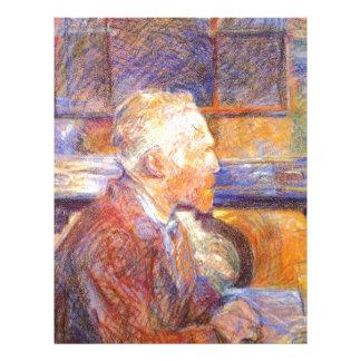 Toulouse-Lautrec - Van Gogh Letterhead