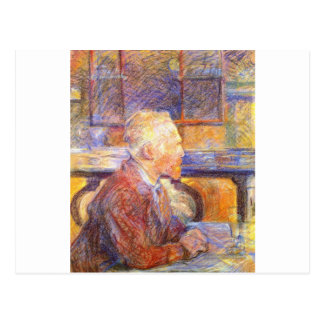 Toulouse-Lautrec - Van Gogh Postcard