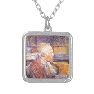 Toulouse-Lautrec - Van Gogh Silver Plated Necklace