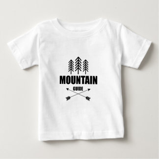 Tour and Adventure, Mountain Guide Baby T-Shirt