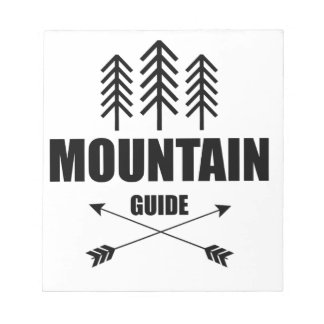 Tour and Adventure, Mountain Guide Notepad