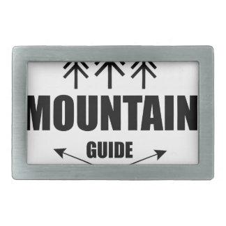 Tour and Adventure, Mountain Guide Rectangular Belt Buckle