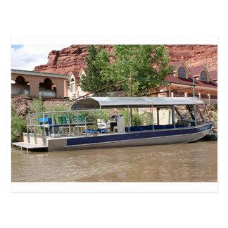 Tour boat, Moab, Utah, USA Postcard