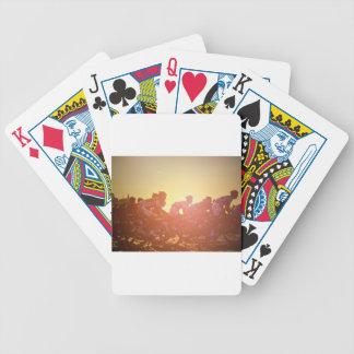 Tour De France Sunset Poker Deck