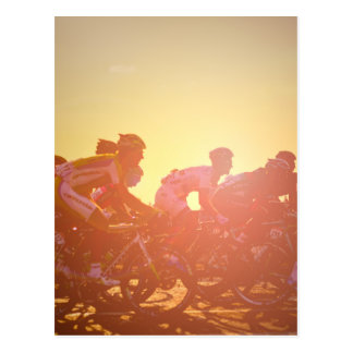 Tour De France Sunset Postcard