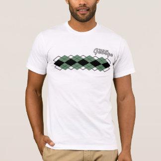 Tour De George Jersey 2012 Green Argyle T-Shirt