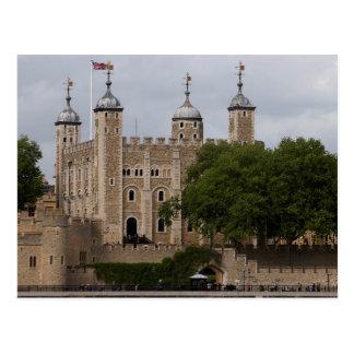 Tour de Londres Angleterre vue de l'autre côté de Carte Postale