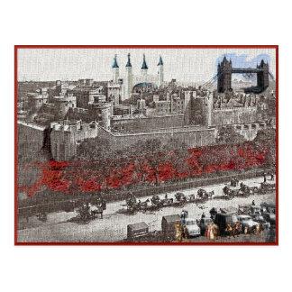 Tour de Londres dans la quatrième dimension Cartes Postales