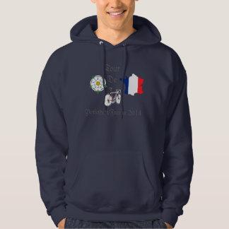 Tour De Yorkshire/France 2014 hooded sweatshirt