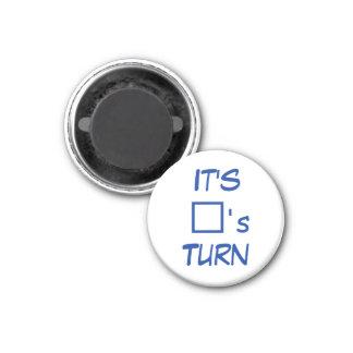 Tour du carré de ~ d'aimant de réfrigérateur de l' magnet carré 2,50 cm