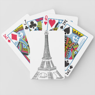 tour Eiffel Bicycle Playing Cards