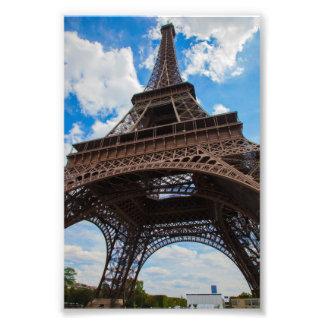 Tour Eiffel de dessous Photographie D'art