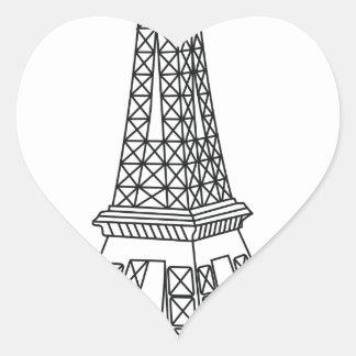 tour Eiffel Heart Sticker