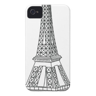 tour Eiffel iPhone 4 Cases