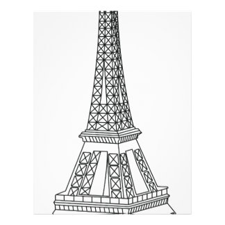 tour Eiffel Letterhead