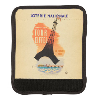 Tour Eiffel loterie nationale Luggage Handle Wrap