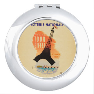 Tour Eiffel loterie nationale Travel Mirrors