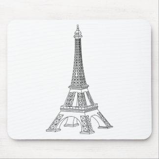 tour Eiffel Mouse Pad