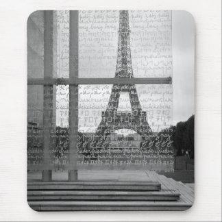Tour Eiffel Mousepad Tapis De Souris