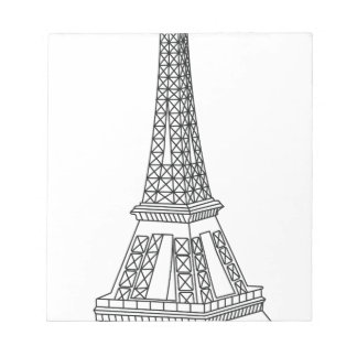 tour Eiffel Notepad