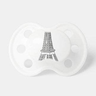 tour Eiffel Pacifier