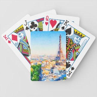 Tour Eiffel - Paris Bicycle Playing Cards
