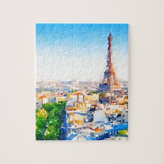 Tour Eiffel - Paris Jigsaw Puzzle