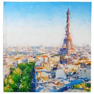 Tour Eiffel - Paris Napkin