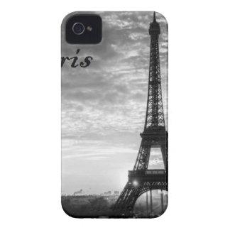 Tour Eiffel Paris - Sunset in Black & White (St.K) Case-Mate iPhone 4 Cases