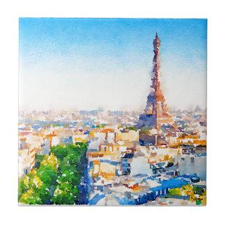 Tour Eiffel - Paris Tile